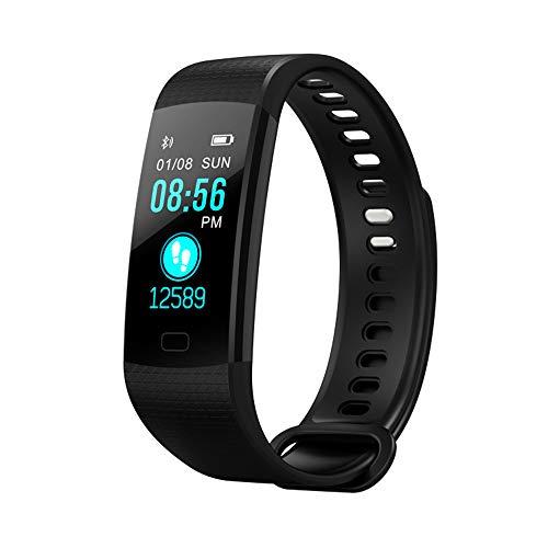 YOZOOE Fitness-Tracker-Uhr, Y5-Aktivitäts-Schlafschritt-Tracker, wasserdichter Herzfrequenz-Blutdruckmonitor, Bluetooth-Kalorienzähler-Pedometer Fitness Tracker, Sport & Outdoor