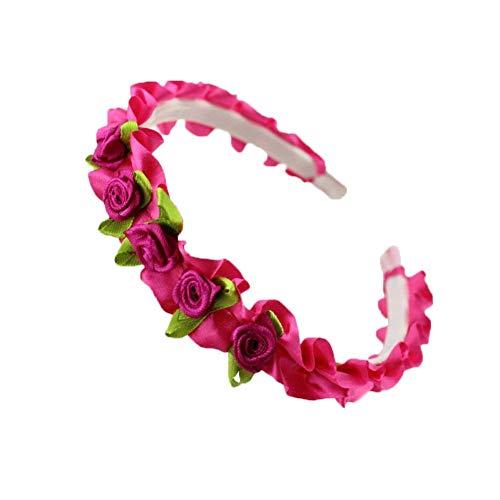 Cosanter Mädchen Haarbänder Stirnband Simulationsblume Dekorative Garland Kopfbedeckung Geeignet...