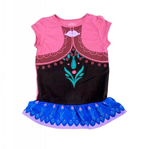 dchens Short Sleeve Dress (6) (Let It Go Elsa Kostüm)
