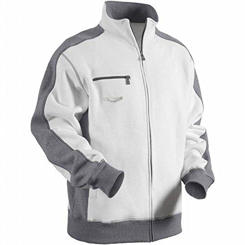 Blakläder Pulloverjacke, 1 Stück, Größe XL, weiß / grau, 335110411094XL