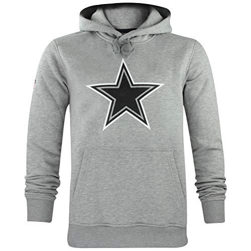 New Era Herren NFL Fan Pack Hoody Kapuzenpullover American Football Two Tone Collection Streetwear Hoodie M Dallas Cowboys