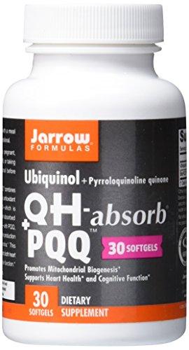 Jarrow Formulas Ubiquinol | QH + PQQ | 100 mg | 30 Kapseln | glutenfrei -