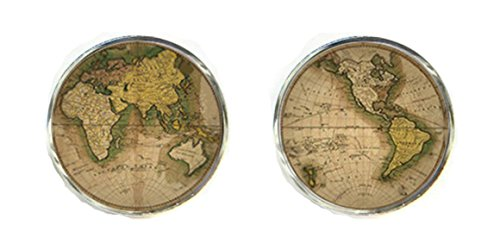 silverfox-gemelli-da-polso-con-mappa-del-mondo-in-confezione-regalo-world-6-taglia-unica