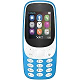 IKALL K3310 Dual Sim Mobile With Money Detector Light, 800 MAh Battery Capacity With 101 Days Replacement Warranty With 1 Year Manufacturer Warranty - Light Blue