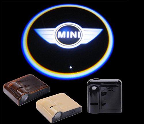 Preisvergleich Produktbild bestmy für Mini Logo 2 Wireless Car LED Tür Projektor Ghost Shadow Light New