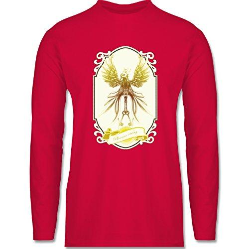 Shirtracer Vintage - Phoenix Rising - Herren Langarmshirt Rot