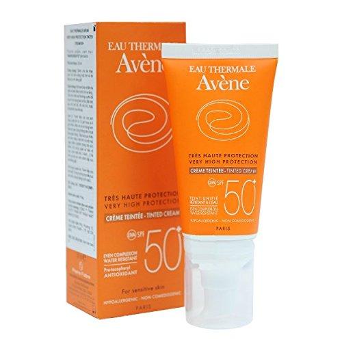 Avene linea solare pelli sensibili spf50+ crema colorata pelli secche 50 ml