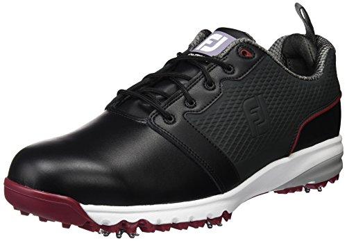 Contour Fit Black/Crimson