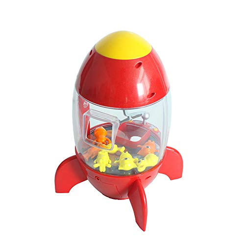 XUMING Traditionelle Arcade Puppe Klaue Maschine Candy Collector Mini Rakete Familie Interaktives Spiel Kinder Action Und Reaktion Spielzeug