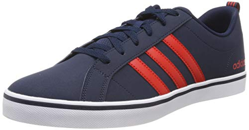 adidas Herren VS PACE Basketballschuhe Blau (Collegiate Navy/Core Red S17/Ftwr White), 49 EU