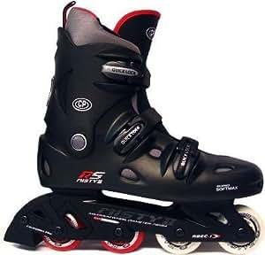 California Pro Misty II Inline Roller Skates (Black, 1_uk_Junior)