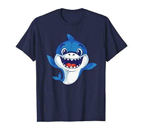 Baby Hai Kostüm - Süßer Haifisch Shark T-Shirt für Mädchen Jungen Kinder