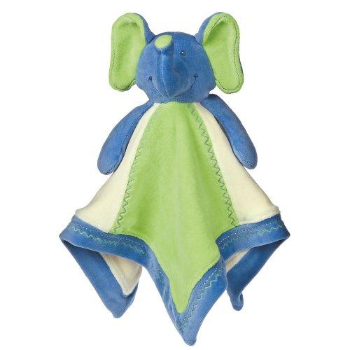 Mary Meyer Earthmates 100% Bio, éléphant Couverture pour bébé, Bleu, 40,6 cm X 40,6 cm