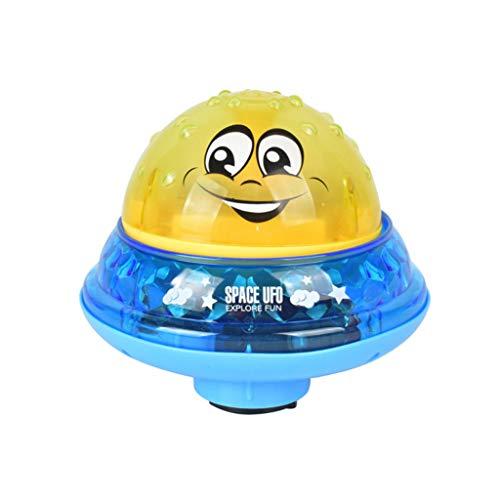 Bescita6 Bad Spielzeug Sprühen Wasser Können Driften Drehen mit Dusche Schwimmbad für Kleinkind Party Kind Automatisch Induktion Wasserstrahl Baden Elektrisch