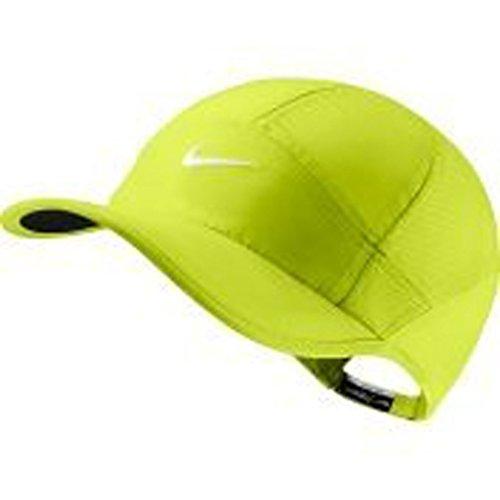 nike-golf-dri-fit-rimanere-cool-neon-yellow-volt-swoosh-bianco-golf-hat-cap-taglia-unica-regolabile-