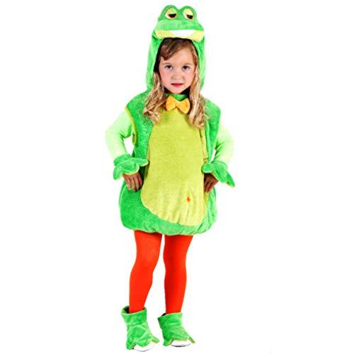 Kostüm Frosch, Weste Quaki, Gr. 104 bis 128 ()