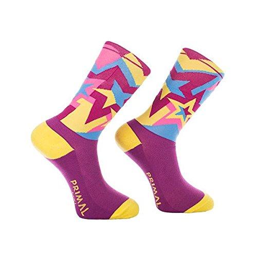 Primal Wear Herren Knock Out Cycling Bike Socken, Mehrfarbig, Size 5-9/Small/Medium (Primal Wear-air)