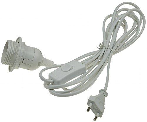 Netzkabel mit Schalter und E27 Fassung