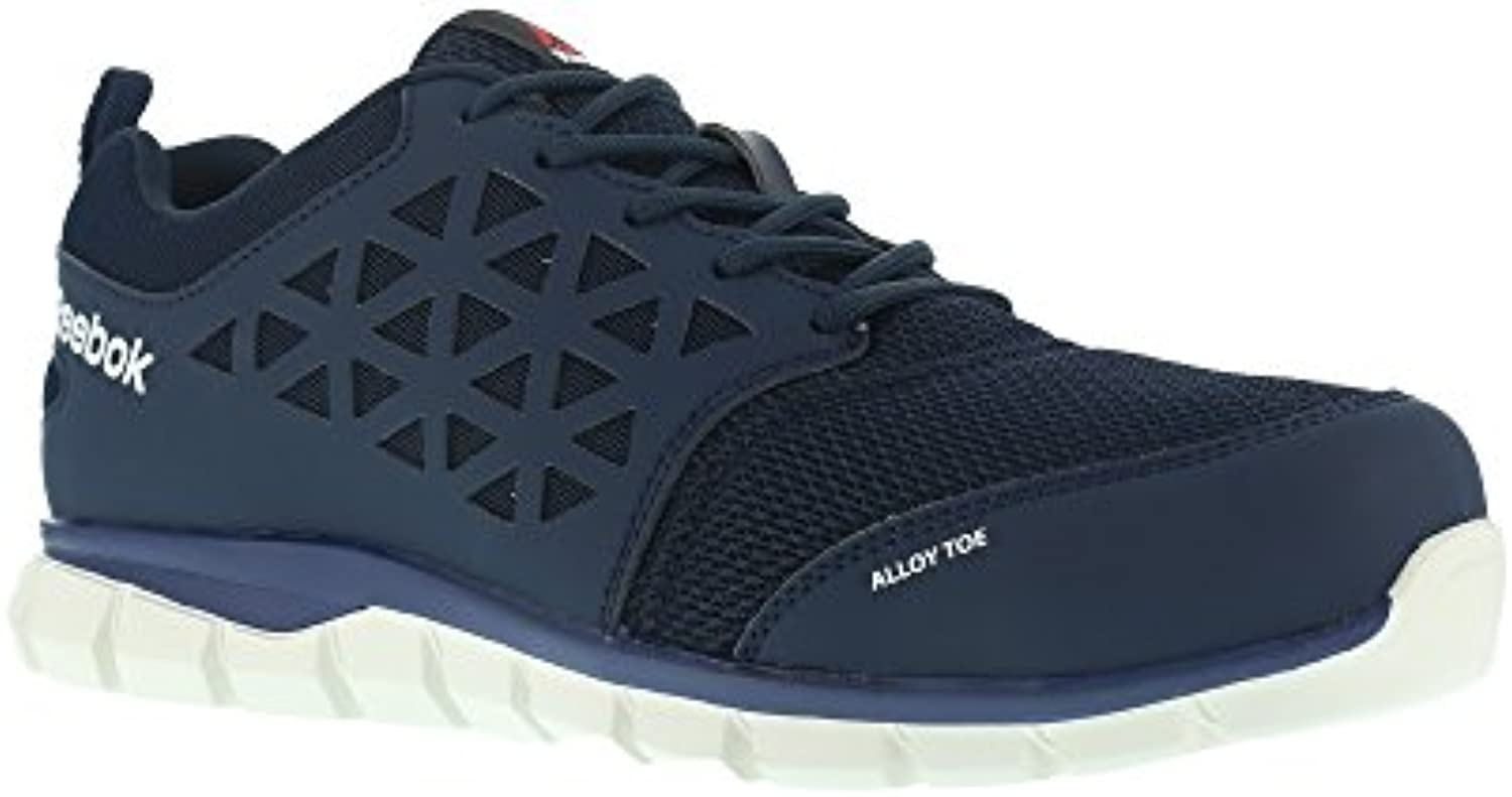 Reebok lavoro IB1030 S1P 46 Excel Light Athletic Athletic Athletic Safety Trainer scarpe, puntale in alluminio, micro fibra e tomaia... | Liquidazione