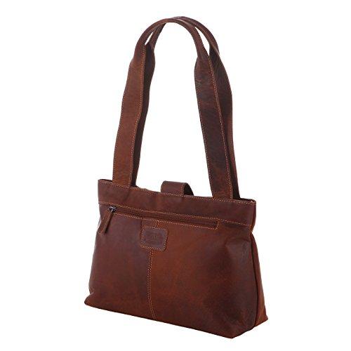 Rada Nature Shopper Darwin echt Leder Handtasche in verschiedenen Farben (tan)