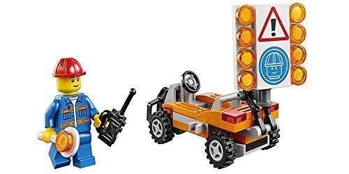 Lego City 30357 - cantonnier avec Sauvegarde du Site (58 Pièces)