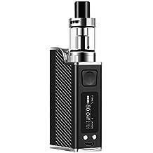 Conpush 80W VAPE Sigaretta Elettronica Kit E Cig Mod Starter Kit, batteria 1500mAh, schermo LCD da 0,91 pollici (nero, senza nicotina)