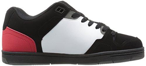 DVS Discord, Chaussures de skateboard homme Black White Red