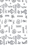 Ridder 461170-350 Duschvorhang Textil ca. 120 x 200 cm, Neptun grau inklusive Ringe