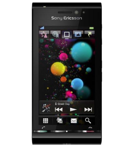 Preisvergleich Produktbild Sony Ericsson Satio Smartphone (UMTS,  Wi-Fi,  aGPS,  12.1 MP,  Xenon Blitz) schwarz