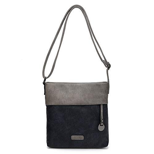 CASAdiNOVA ® Damen Handtasche Klein | Damen-Handtasche Blau | Schultertasche Schwarz| Umhängetasche | Messenger-Bag | Shopper-Tasche -