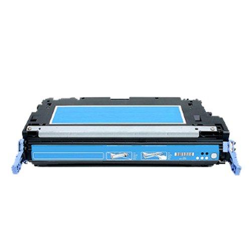 Print-Klex Kompatible Tonerkartusche für HP Color LaserJet 5500Series Color LaserJet 5550 Color LaserJet 5550DN Color LaserJet 5550DTN Color LaserJet 5550HDN Color LaserJet 5550N C9731A C-9731 Cyan Blau (Hp Color Laserjet 5550n)