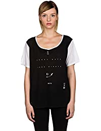 Damen T-Shirt Burton Temple Boyfriend T-Shirt