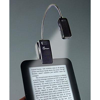 eBook Reader Booklight | Leselampe | Schwarz: LED Leselicht mit Clip für eBook Reader und Bücher
