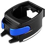 WINOMO 2 en 1 Soporte de coche ajustar la botella aire ventilación teléfono soporte soporte (azul)