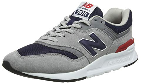 New Balance Herren 997H Core Sneaker, Grau (Team Away Grey/Pigment), 45 EU