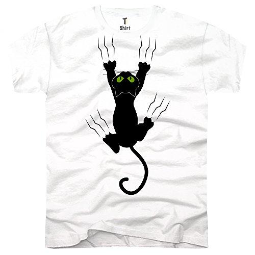 af597180e21d TEEShirt, Herren TShirt mit Aufdruck Coole Motive TShirt mit Katzen ...