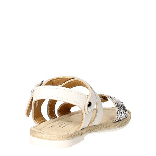 Grunland SA1045-D7 Sandale Fille Blanc