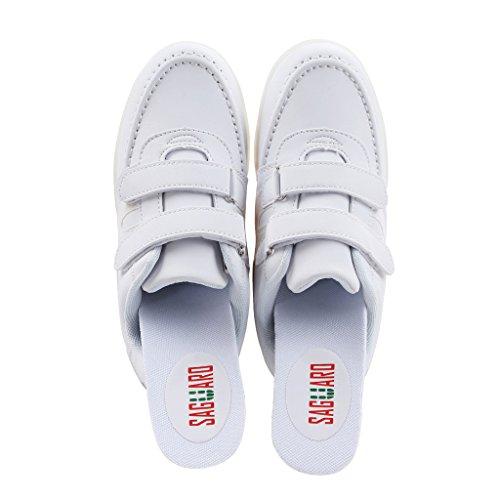 SAGUARO® Jungen Mädchen Turnschuhe USB Lade Flashing Schuhe