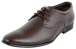 Shoeadda Mens Brown Derby Shoes - 7 UK