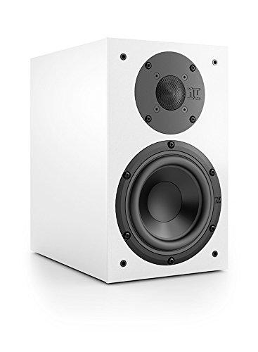 Nubert nuBox 313 Regallautsprecher I 2 Wege Lautsprecher Box mit HiFi Qualität I Heimkino & Musik genießen mit dem Nubert Kompaktlautsprecher (15,0 cm Tieftöner, 2,5 cm Hochtöner) I Weiß I 1 Stück