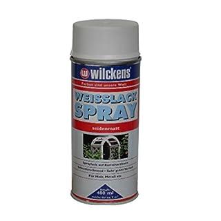 Wilckens Weisslack Spray hochglänzend/seidenmatt 400ml (seidenmatt)