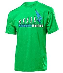 WINDSURFEN EVOLUTION 626(H-Kellygreen-Weiss-Blau) Gr. M