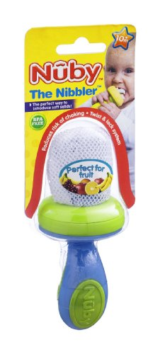 Nuby Fruchtsauger, ab 10 Monate