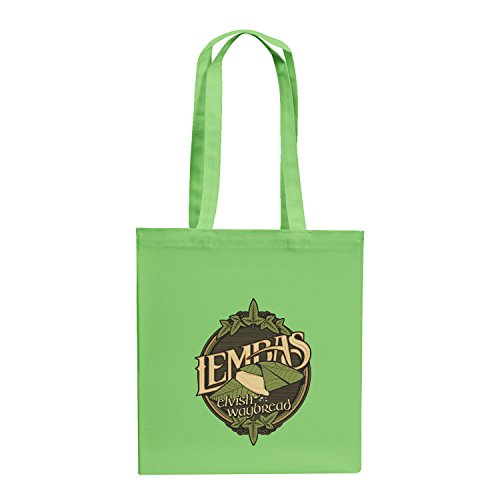 Texlab–lembas The Elvish waybread–sacchetto di stoffa Verde chiaro