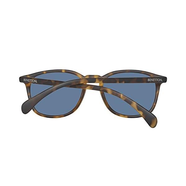 United Colors of Benetton BE960S02 Gafas de sol, Trtois/Green, 52 Unisex