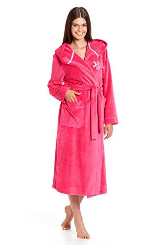 Damen Bademantel Revise Dina RE-605 Raspberry