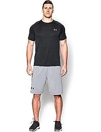 Under Armour Ua Tech Ss Tee Herren Fitness - T-Shirts & Tanks, Schwarz Black Steel, L