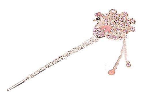 Classical Moods épingle cheveux Ornements Barrette Chapeaux Crown rose