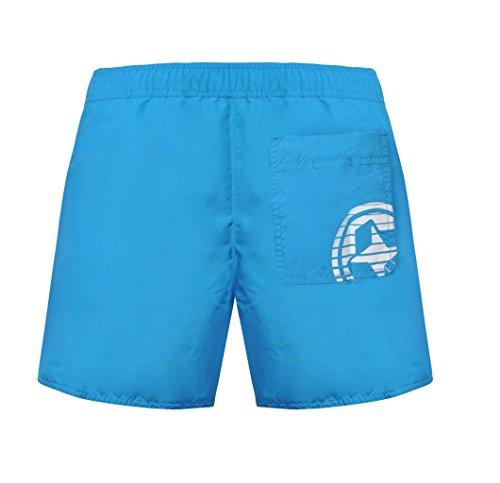 Colmar Short de bain maillot de bain bleu clair/blanc