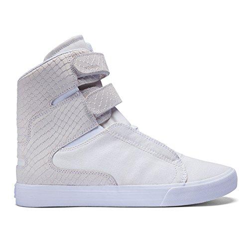 Supra Society II Shoes - White / White -UK 10